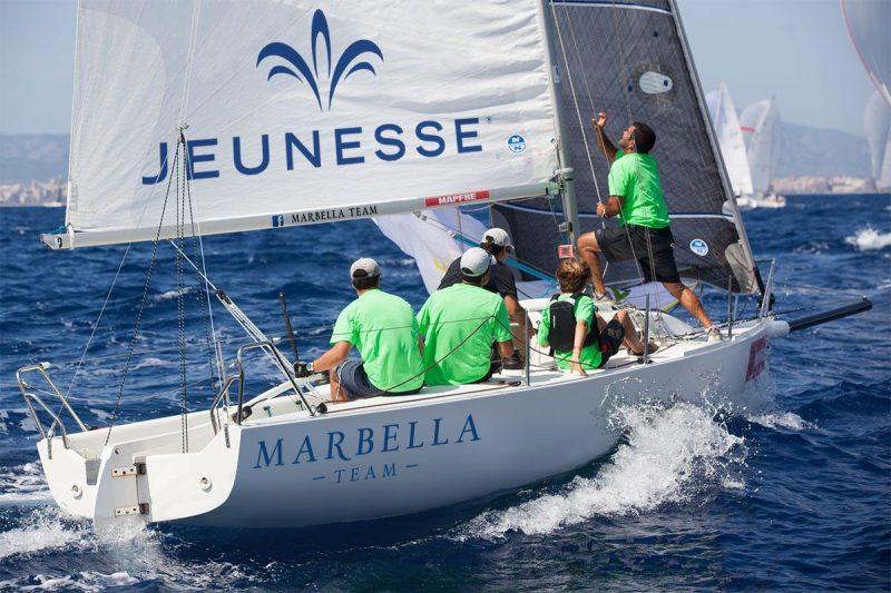 Jeunesse, nuevo patrocinador del equipo de regatas Marbella Team