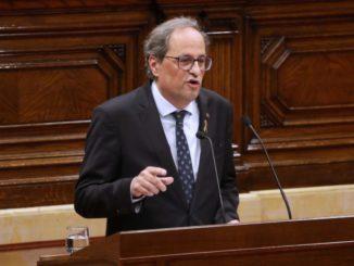 Torra desobedece al juez y anuncia un decreto para reafirmar las medidas adoptadas en Lleida,