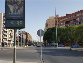 Alertas por altas temperaturas en amplias zonas del centro y sur peninsular,
