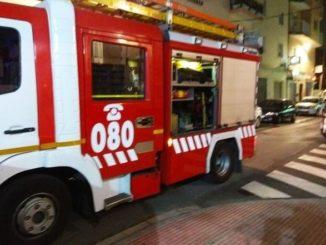 Dos personas resultan heridas tras la explosión en una gasolinera del centro de Cartagena,