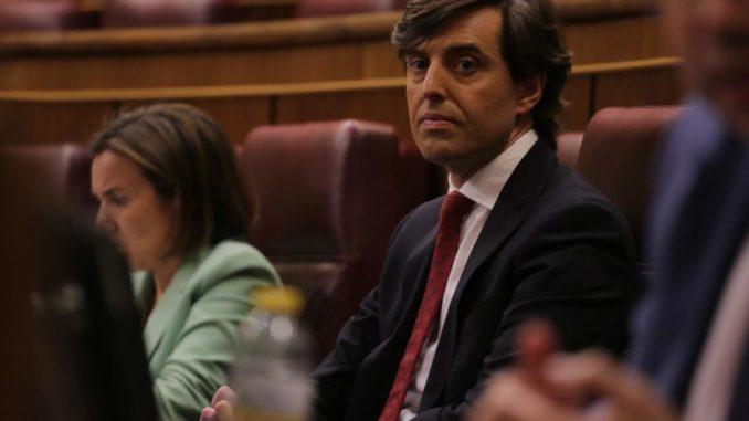 El vicesecretario de Comunicación del Partido Popular, Pablo Montesinos