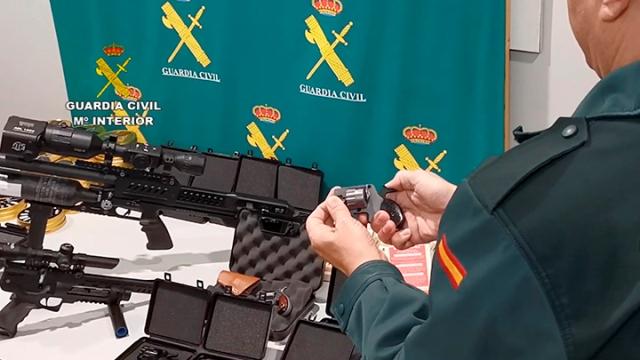 armas de fuego Guardia Civil
