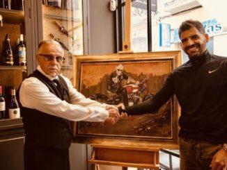 Un nuevo artista de Málaga se une a una producción de Hollywood en la ciudad para apoyar a una organización benéfica local,