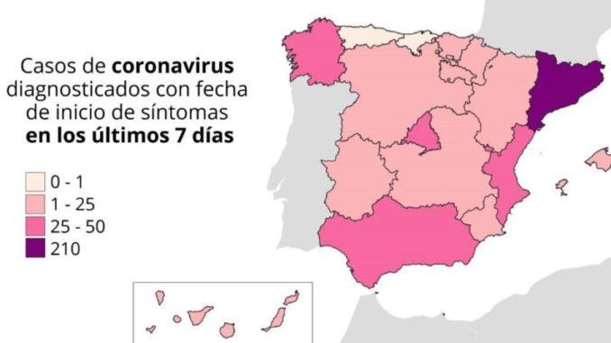 15 autonomías afectadas con rebrotes y parte de Lleida y Lugo vuelven al confinamiento,