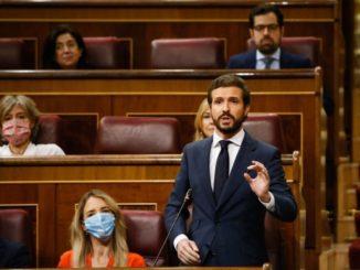 """Casado considera """"alarmante"""" el aumento de la ocupación ilegal de viviendas y llama a actuar ante la """"pasividad"""" de Sánchez,"""