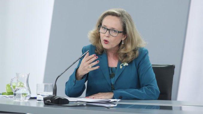 La vicepresidenta tercera del Gobierno y ministra de Asuntos Económicos y Transformación Digital, Nadia Calviño - Eduardo Parra - Europa Press