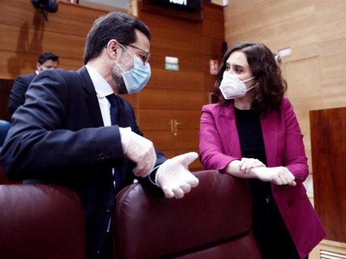 """Madrid exige al Gobierno """"reglas claras"""" para el fondo europeo poscovid,"""