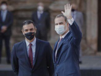 El Rey viaja este fin de semana a Baleares y el miércoles despachará con Pedro Sánchez en Marivent,