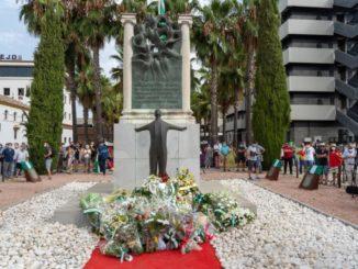Los partidos andaluces salvo Vox recuerdan el asesinato del 'Padre de la patria andaluza', Blas Infante,
