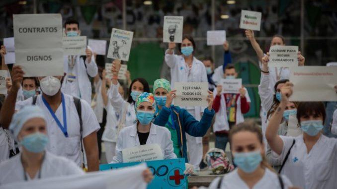 Los técnicos de Enfermería exigen que se respete el descanso de los sanitarios en septiembre,