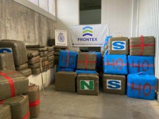 Incautados casi 4.600 kilos de hachís en el puerto de Algeciras,