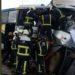 Avilés se concentra en señal de solidaridad con las víctimas del accidente mortal de un autobús de Alsa