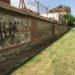 Las obras de restauración del muro de la Casa de Campo en Madrid avanzan en la zona del Renegado