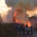 Terrible incendio en la catedral de Notre-Dame